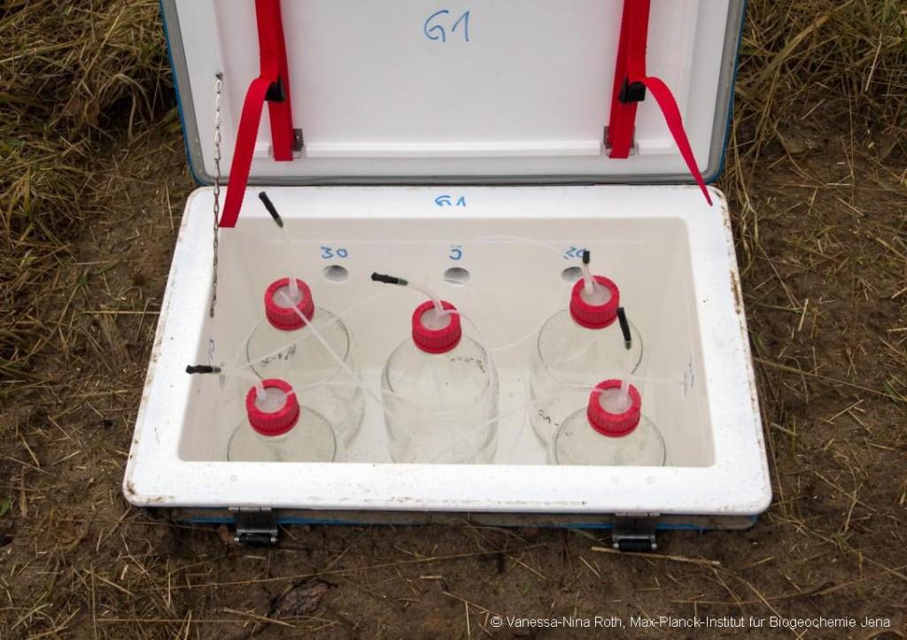 Bodenwassersammelkiste